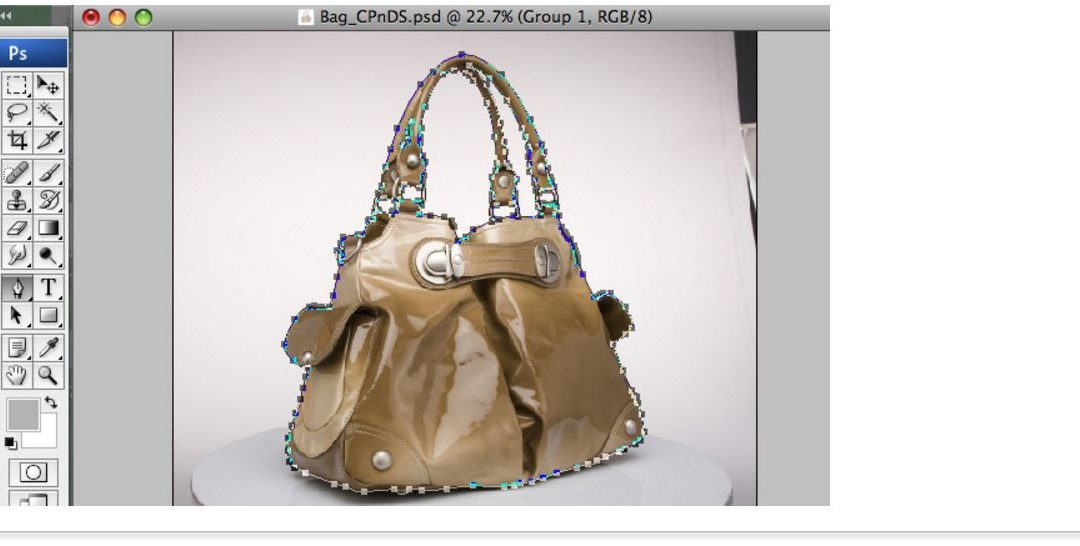 How do we draw high quality clipping path using Pen Tool?